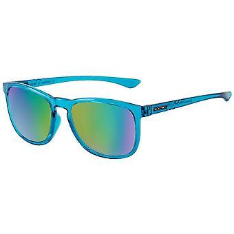 Dirty Dog Shadow Sunglasses - Crystal Blue/Green