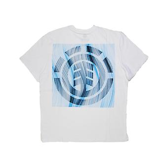 Element Twists & Turns Logo Short Sleeve T-Shirt in Optic White