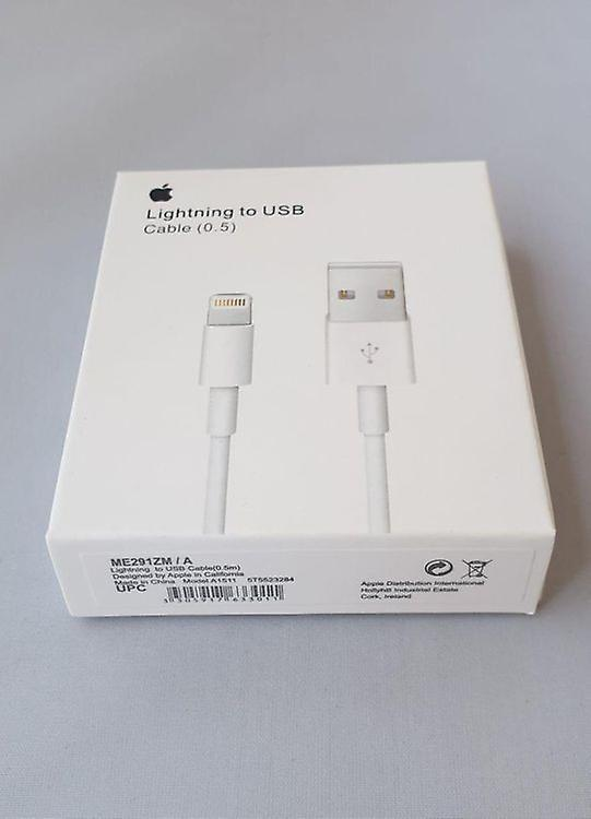Original Retail ME291ZM/A Lightning Data Cable 50cm, iPhone iPad iPod