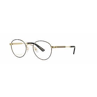Gucci GG0290O 002 Black-Gold Glasses
