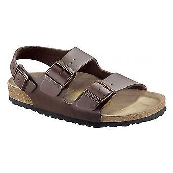 Birkenstock Milano BF sandaal 034701 donker bruin REGULAR