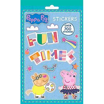 700pcs Peppa Pig Greta pig Stickers Set Stickers