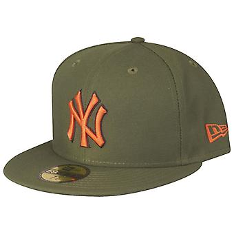 New Era 59Fifty Fitted Cap - New York Yankees rifle green