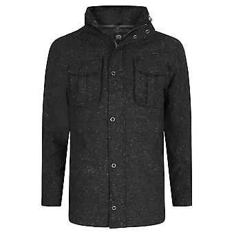 Animal Jackoo Fashion Jacket in Charcoal Grey Marl