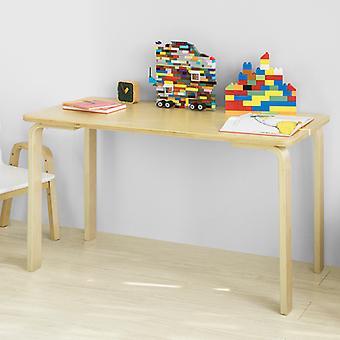 SoBuy niños niños mesa mesa rectangular de madera,KMB23-N