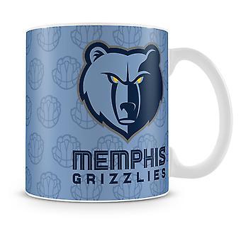 Фанатики НБА команды керамическая кружка кофе - Мемфис