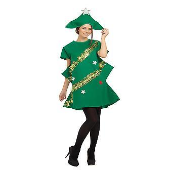 Bristol Neuheit Damen Xmas Tree Kostüm