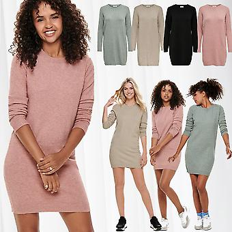 JDY Women Pullover Knit Shirt Longsleeve Dress Sleeveed Jumper JDYMARCO Melange