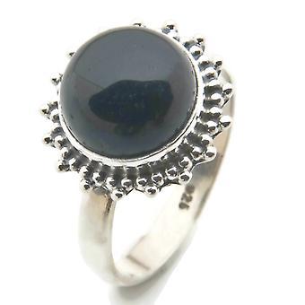 Onyx Ring 925 Silver Sterling Silver Women's Ring Black (MRI 95-03) Onyx Ring 925 Silver Sterling Silver Women's Ring Black (MRI 95-03)
