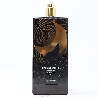 Memo Paris Russian Leather Eau De Parfum Spray  2.5oz/75ml New Withoutbox