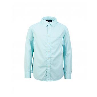 Polo Ralph Lauren Kinderbekleidung Button Down Garment gefärbt Twill Shirt