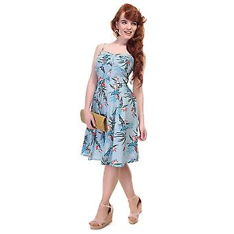 Collectif Vintage Women's Fairy Bird of Paradise Dress