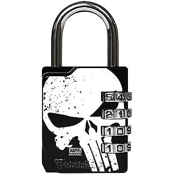 Performa Ultra Premium Embossed 4-Dial Combination Gym Lock - Punisher