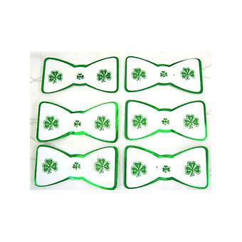 Шамрок картона галстук бабочку