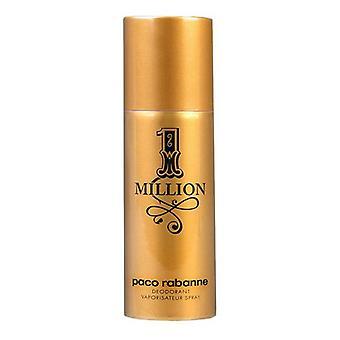 Déodorant de pulvérisation 1 million Paco Rabanne (150 ml)