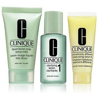 Clinique Pack of 3 Steps Introduction Type of Skin 1