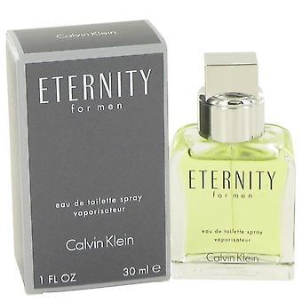 Eternity eau de toilette spray door calvin klein 413058 30 ml