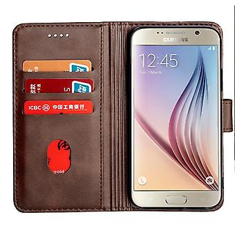 CaseGate phone case case cover for Samsung Galaxy S6 case cover - lock, stand function and card compartment