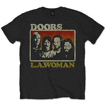 להקת הנשים של התזמורת לה ג'ים מוריסון רוק רשמי חולצת טי
