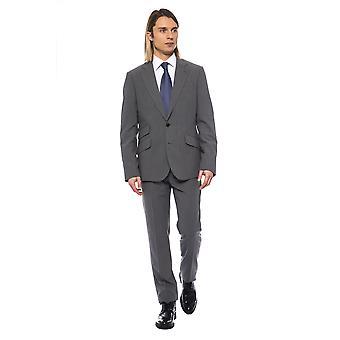 Harmaa Miesten miljardööri puku
