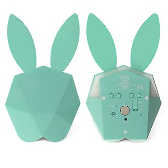 Bunny Smart Alarm Clock Night-Light - Cutty Clock Connect- MOB, Blue
