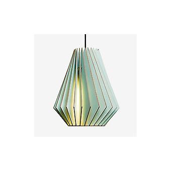 Iumi Hektor L Cone Shaped Birch Plywood Pendant - Light Blue