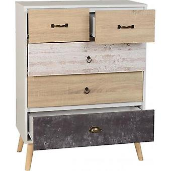Nordic 2+3 Drawer Chest