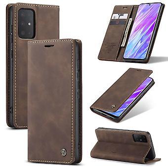 Retro Wallet Smart für Samsung S20 Ultra Brown
