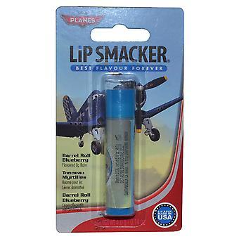 Lietadlá Disney LIP Smacker ochutené pery balzam 4G barel roll Blueberry