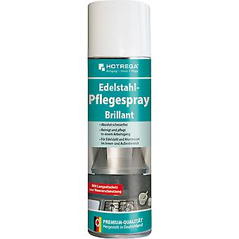 "HOTREGA® stainless steel care spray ""Brilliant"", 300 ml spray can"