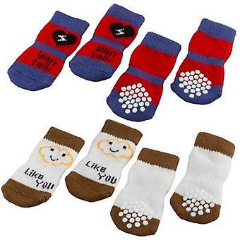 Ferplast Pet Socks Antislip X4 (Perros , Ropa , Calzado)