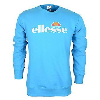 Ellesse Pizzoli Załoga Szyja Niebieska bluza