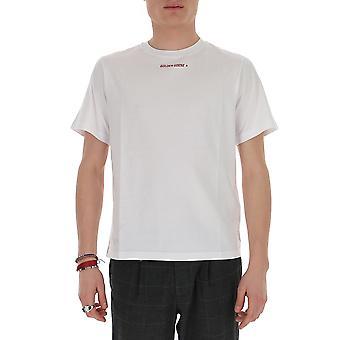 Goldene Gans G36mp524b1 Männer's weiße Baumwolle T-shirt
