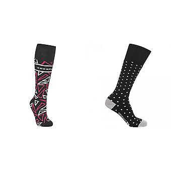Trespass Womens/Ladies Shard Technical Ski Socks