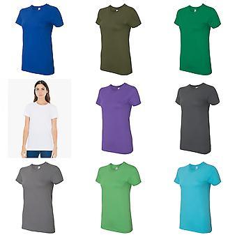 Amerikai ruházat womens Fine Jersey póló