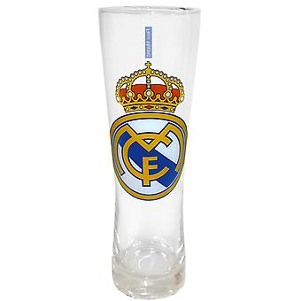 Real Madrid Regalo Oficial de Fútbol Peroni Estilo Alto Pint Glass