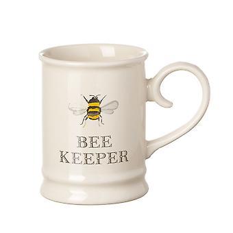Tuftop Bee Tankard Mug, Bee Keeper