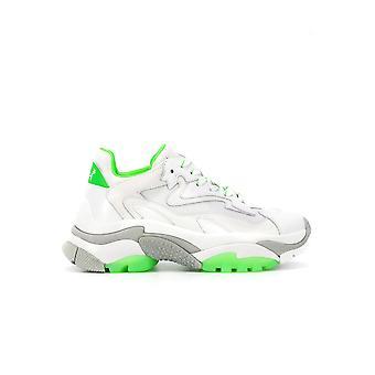 Ash Addict004 Kvinnor' s vitt läder Sneakers