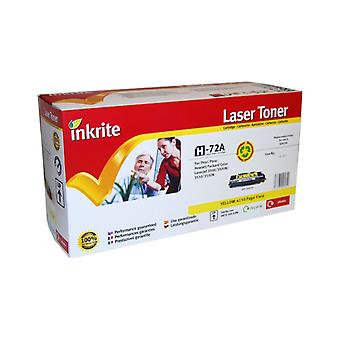 Inkrite Laser Toner Cartridge compatibel met HP 3500Y geel