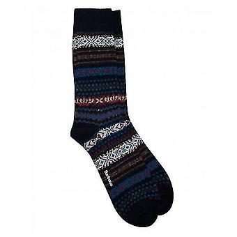 Barbour Boyd Fairisle sokken