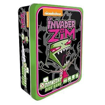 Invader Zim Doomsday dobbelstenen spel