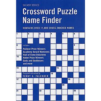 Crossword Puzzle Name Finder by Terry G. Falconer - 9781554072880 Book