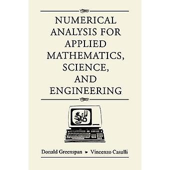 Numerical Analysis by Greenspan & Donald