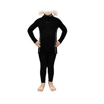 Enfants-apos;s Thermal T-shirt Sport Hg Hg-8095 Noir