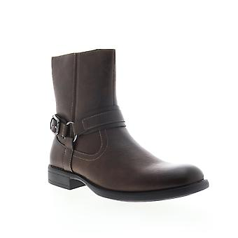Robert Wayne Conroy  Mens Brown Leather Casual Dress Boots Shoes