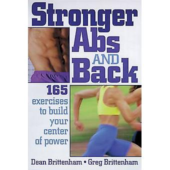 Stronger Abs and Back by Dean Brittenham - 9780880115582 Book