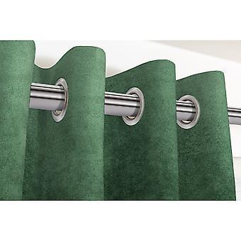 Mcalister textiles matt moss green velvet curtains