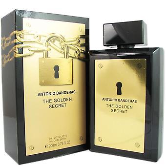 Das goldene Geheimnis für Männer von Antonio Banderas 6,75 oz Eau de Toilette spray