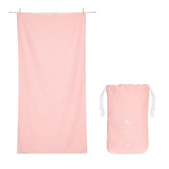 Dock & bay quick dry towel - eco - island pink