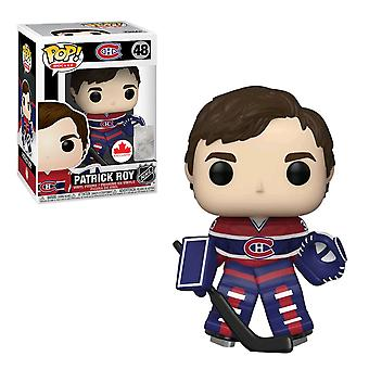 NHL Canadiens Patrick Roy US Exclusive Pop! Vinyl